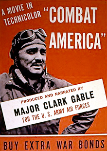 Clark Gable War Bonds Ad