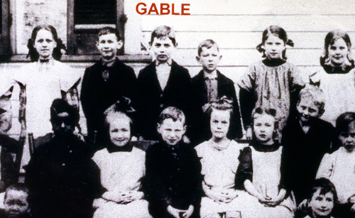 Gable's mother