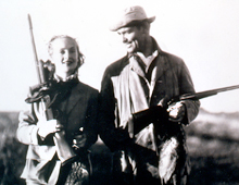 Duck hunting 1940