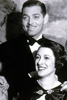 Clark gable marriages